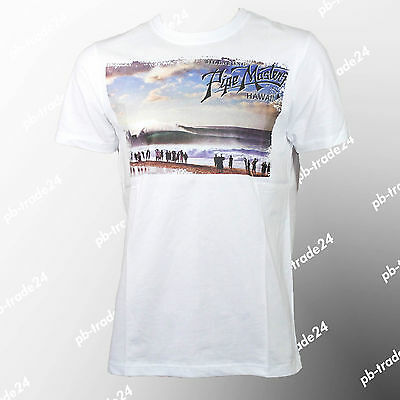 Billabong T-Shirt Spectator weiss Tee Pipe Master Hawaii Skate- & Surffashion