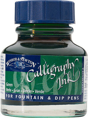 Winsor & Newton Calligraphy Inks -30ml Bottles Full Range- Buy 4 Pay for just 3