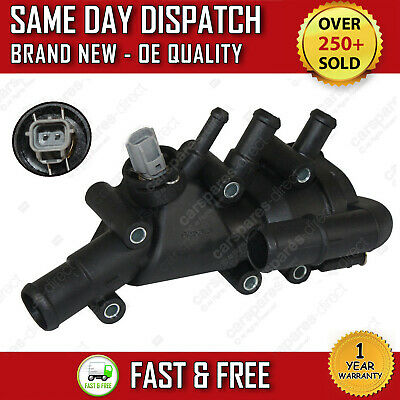 FORD FIESTA Mk5 2001 2008 1.3 Duratec THERMOSTAT + THERMOSTAT HOUSING + GASKET