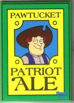 The Family Guy, Pawtucket Patriot Ale Logo Magnet, NEW UNUSED