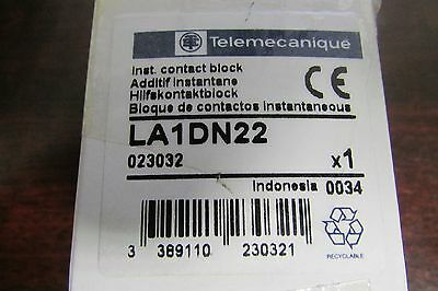 SIEMENS GROUPE SCHNEIDER TELEMECANIQUE Auxiliary Contact Relay Block LA1 DN22