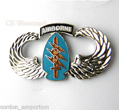 Us Army Airborne Special Forces Logo Lapel Pin Badge 1.5 Inches