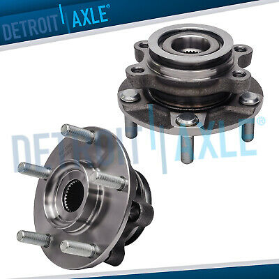 2 Front Wheel Bearing Hub W/ABS for 2008 2009 2010 2011 2012 Nissan Sentra Rogue