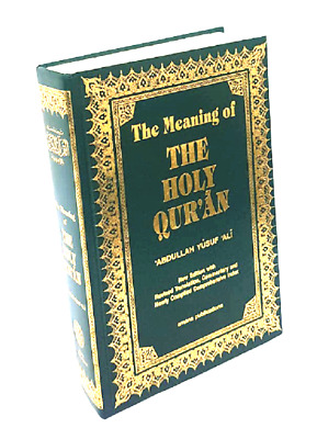 The Meaning of the Holy Quran-Arabic/English Translation/Commentary-Yusuf Ali-HB