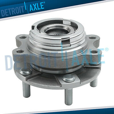 Front Wheel Hub and Bearing Assembly AWD w ABS -fits Infiniti EX35 FX50 G37 M45