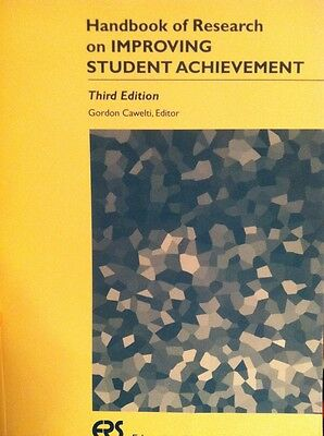 Handbook Of Research On Improving Student achievement 3rd Edition