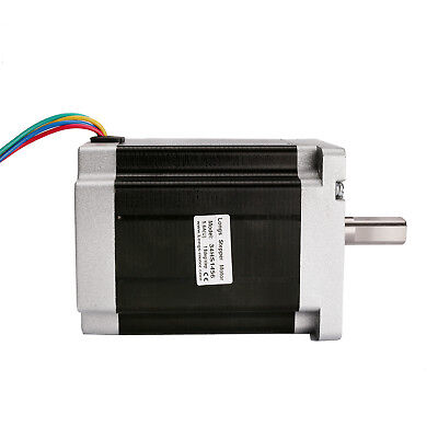 1PC Nema34 stepper motor 1232oz.in 5.6A bipolar 4wires 116mm 34HS1456 NEW LONGS