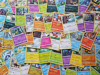 Lot Of 100 Pokemon Cards Commons, Uncommons, Rares Black & White, XY Flashfire