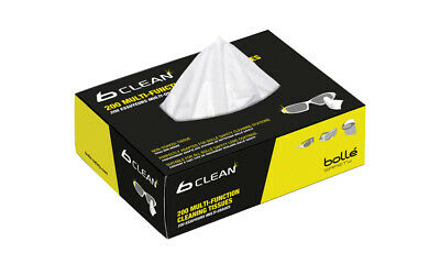 Bolle B401 Lens/Glasses Cleaning Tissues - Eyewear Accessories