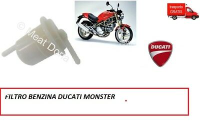 4502 Filtro Benzina Ducati Monster 600-750-900 Carburatore