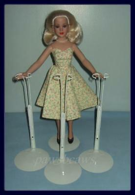 "3 KAISER Doll STANDS for 18"" DeeAnna Denton & Kitty Collier"