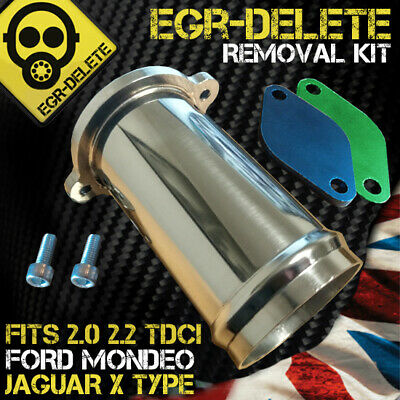 EGR REMOVAL KIT blanking plate Jaguar X-type Ford Mondeo 2.0 2.2 TDCi ST Bypass