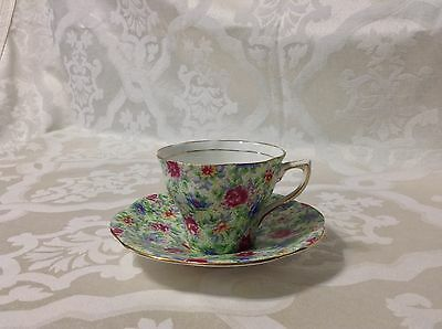 Vintage Tea Cup By Rosina ,Made in England  in a beautiful Chintz Pattern