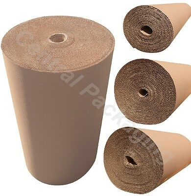 1000mm CORRUGATED BROWN CARDBOARD ROLLS paper protective  fragile items