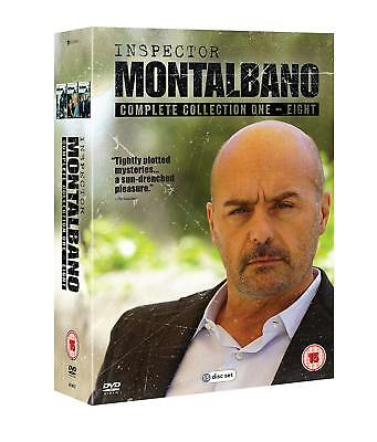 Inspector Montalbano The Complete Collection 1-8 Dvd Box Set 15 Disc New&sealed