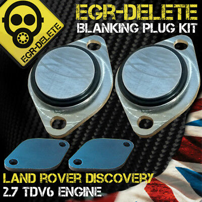 LAND ROVER DISCOVERY 3 RANGE ROVER SPORT TDV6 EGR Removal Blanking plate kit