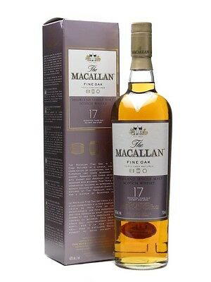 Macallan 17 Year Old Fine Oak Single Malt Scotch Whisky 700ml
