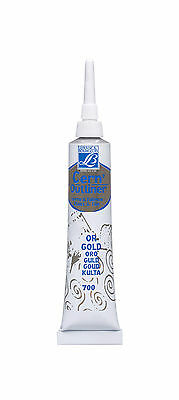 Lefranc & Bourgeois Glass & Tile Paint Outliner Gold, Silver or Black 20ml tubes