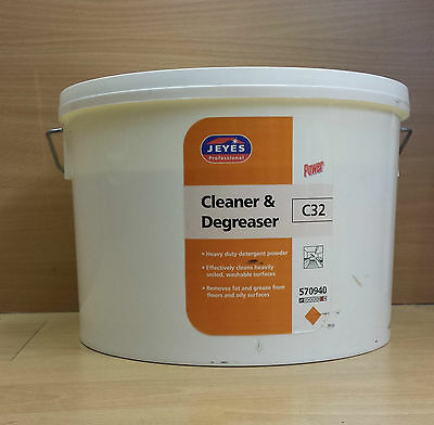 Jeyes Cleaner & Degreaser powder,degreaser,fat grease remover,catering 10kg