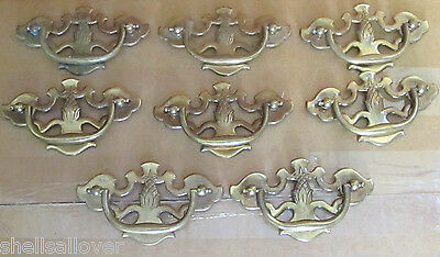 lot of 8  Vintage  Drawer Pulls
