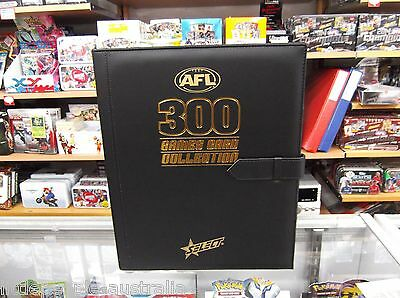 2014 Afl Select Trading Cards 300 Game Card Collection Album
