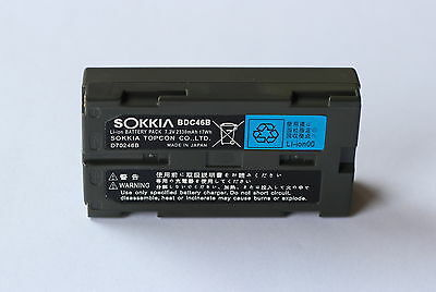 NEW SOKKIA BDC46/BDC46B/BDC46A Li-ion Battery BDC-46 FOR SOKKIA TOTAL STATIONS