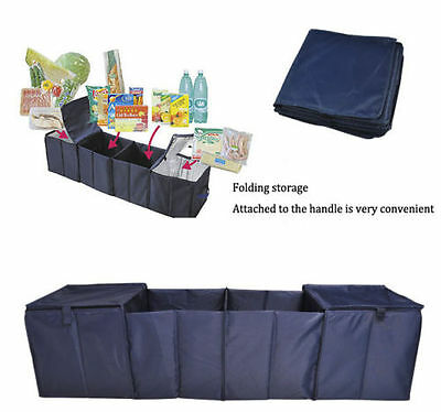 Universal Large Folding Car Boot Storage Tidy Travel Organiser Cool Thermo Bag