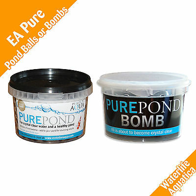 EA - Evolution Aqua - Pure Pond Bomb OR EA Pure Pond Balls - Multi-pack Prices!