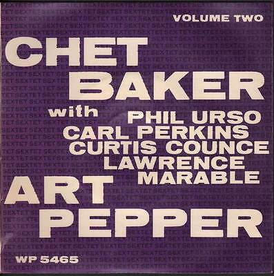 "Chet Baker With Art Pepper Vinile EP 7"" Minor-Yours / C.T.A. Nuovo"