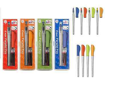 Calligraphy Pen Set PILOT PARALLEL CHOOSE SIZE 1.5mm, 2.4mm, 3.8mm, 6.0mm