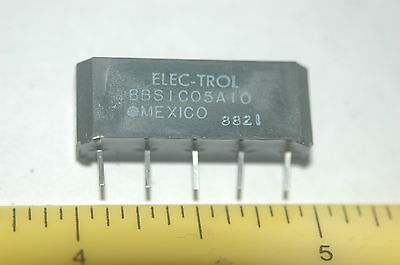 Electrol Bbs1C05A10 Spdt 5Vdc Sip Reed Relay New Lot Quantity Of 100
