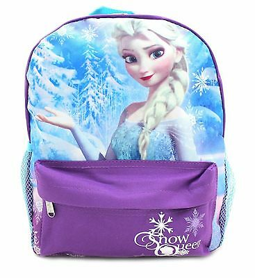 "Disney Frozen Snow Queen Princess Elsa 12"" Backpack BRAND NEW - Licensed Product"
