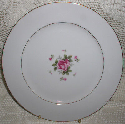Fine China Japan Gemini Rose Dinner Plate Plates Excellent condition