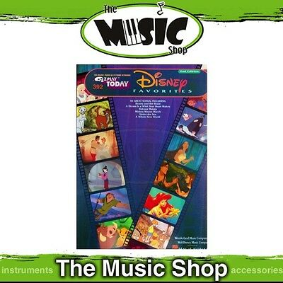 New EZ Play #392 Disney Favourites Piano Music Book - Easy Play - 2nd Edition