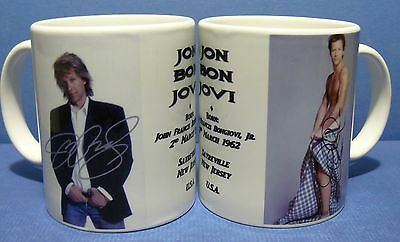 BON JOVI -  2 Photo - Coffee Mug