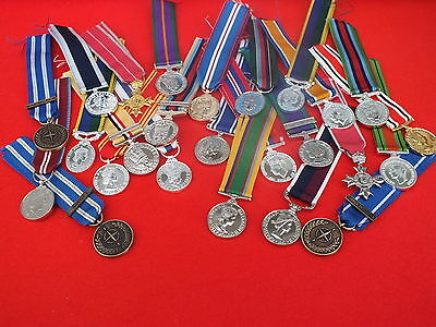 Full Size & Miniature Medals, UK made
