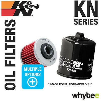 New! K&n 'kn' Series Performance Oil Filters - Powersports Motorbike Motorcycle