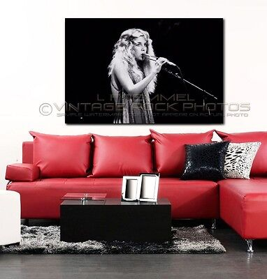 Stevie Nicks Poster Fleetwood Mac 40x60 in Photo '70s Live Concert Pro Print L70