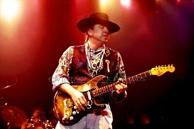 Stevie Ray Vaughan Poster 40x60 inch Photo 1989 Live Concert Pro Canon Print 126