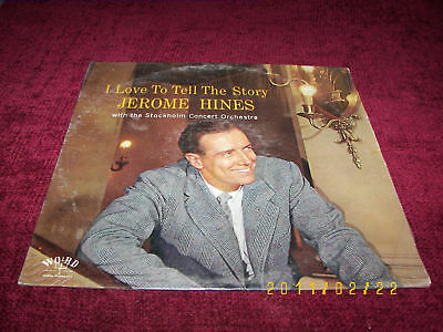 Jerome Hines I Love to Tell The Story LP VG++ W3365