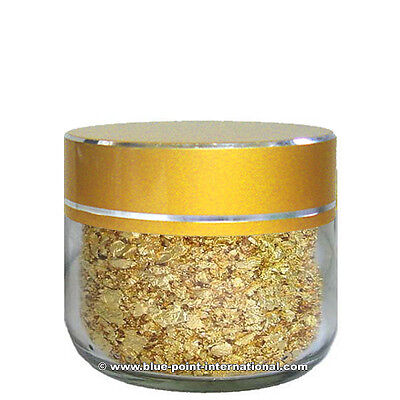 100mg GOLD FLAKES - 24 Carats - 999/1000 pure - Gold Leaf Leaves - EDIBLE