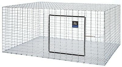 "(3) Pack Pet Lodge 36""x30"" Wire Rabbit Cages For Meat / Pet Bunny Indoor Outdoor"