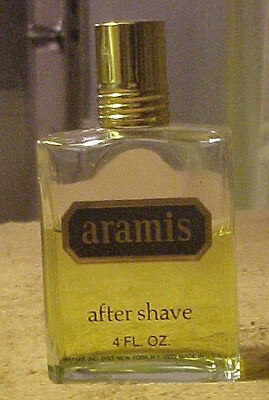 Vintage Aramis After Shave 4 Fl. Oz. Unbox. Partially Full