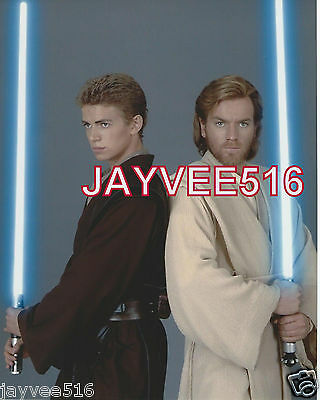 """Star Wars """"attack Of The Clones"""" Color Vintage Still Photo Light Sabers"""