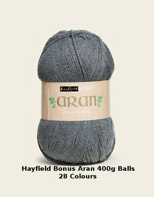 Hayfield Bonus Aran with Wool 400g