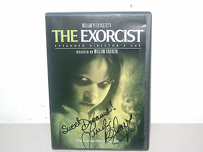 "THE ""EXORCIST"" LINDA BLAIR SIGNED DVD (extended director's cut)"