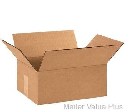 25 12 x 9 x 5 Shipping Boxes Packing Moving Cartons Cardboard Mailing Box