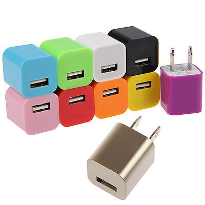 WHOLESALE LOT USB AC Power Adapter Wall Charger for iPhone 3GS 4 4S iPod