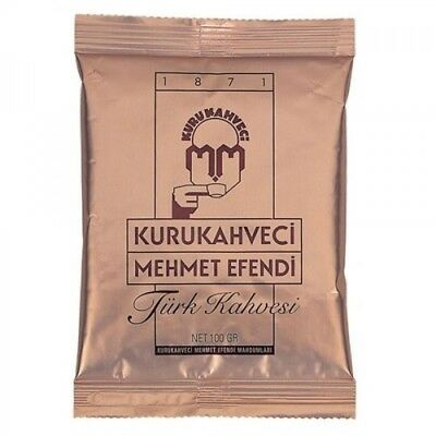 Turkish Coffee Kurukahveci Mehmet Efendi - 2 Packs (200g) - 4 Packs (400g) LOTS