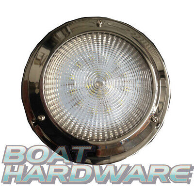 Dome Light 12V LED Stainless Steel Cabin Boat/Marine/Caravan/Ceiling Lamp